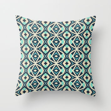 Mix #608 Throw Pillow by Ornaart