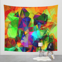 colors Wall Tapestry by Haroulita