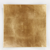 Gold Square-Rimmed Chargers, Set of 4 - World Market