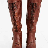 Jeffrey Campbell Lace-Up Tall Boot-