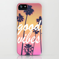 good vibes 3 iPhone & iPod Case by Hannah