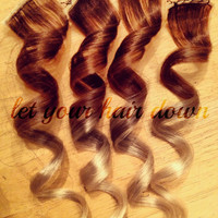 """2"""" Clip Ombre Hair Extensions"""