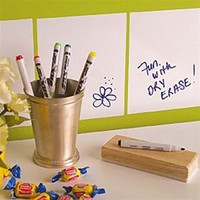 Dry Erase Squares Peel N Stick - Dorm Room Decor cool college products college supplies dorm supplies dorm room needs dorm item