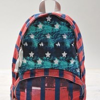 AEO Women's Mixed Graphic Backpack (Multi)