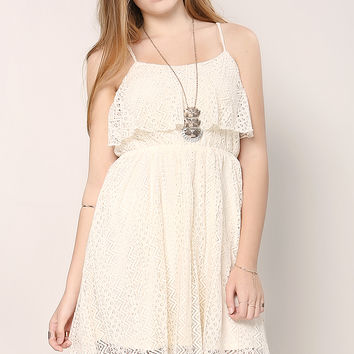 Lacy Frill Dress