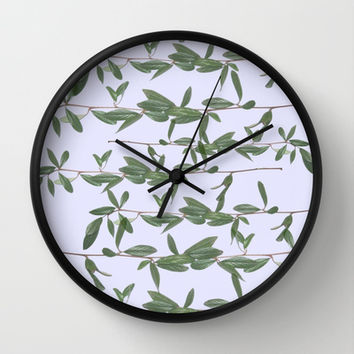 bucket Wall Clock by Austeja Saffron