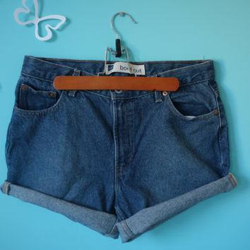 Custom High Waisted Shorts MadeToOrder Distressed by ShortsCouture