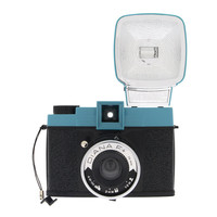 Lomography Reproduction Diana F+ Camera w/ Flash & Adapters