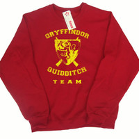 Gryffindor Quidditch Team Pullover Sweater, In any color