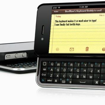 INFMETRY:: Slide-Out Keyboard Buddy iPhone 4 Case - Electronics