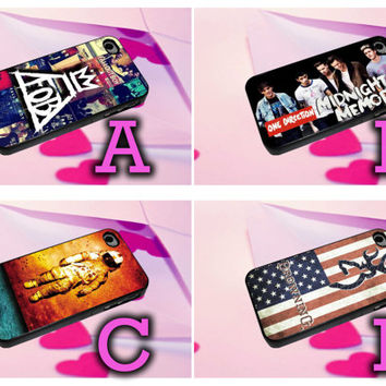 all band logo album cover for iphone 4/4s, iphone 5/5s/5c, iphone 6/6+