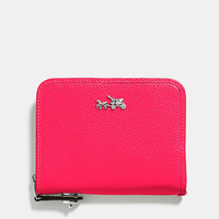 C.O.A.C.H. MEDIUM CONTINENTAL WALLET IN LEATHER