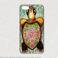 Cute little turtle,iphone case iphone 4/4S case iphone 5 cover samsung gaxaly S3 S4 case hard case,