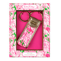 Key Fob - Pink Colony - Lilly Pulitzer
