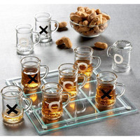 Game Night Drinking Tic Tac Toe Game | Overstock.com