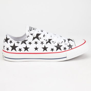 Converse Chuck Taylor All Star Low Shoes White/Black  In Sizes