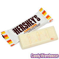 Hershey's Candy Corn Bits Snack Size Chocolate Bars: 20-Piece Bag | CandyWarehouse.com Online Candy Store