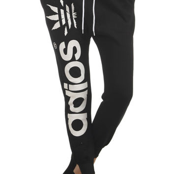 ADIOS Mary Jane Sweatpants in Black