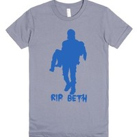 RIP Beth Walking Dead Daryl Bethyl TWD memorial Tshirt-T-Shirt