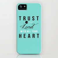 Proverbs 3:5 iPhone Case by Pocket Fuel   Society6