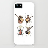 Meet the Beetles iPhone Case by Eric Fan | Society6