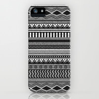 Ethnic Black iPhone & iPod Case by Louise Machado