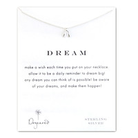 Sterling Silver Dream Wishbone Necklace