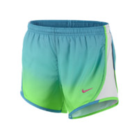 """Nike 3.5"""" Tempo Graphic Girls' Running Shorts Size L (Green)"""