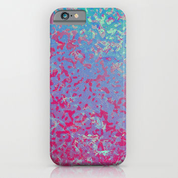 Colorful Corroded Background G284 iPhone & iPod Case by MedusArt