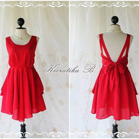 A Party  V Shape Style   Prom Party by LovelyMelodyClothing