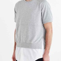 Shades Of Grey By Micah Cohen Short-Sleeve Sweatshirt-
