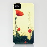 Towering Poppies iPhone Case by Deb Scudder   Society6