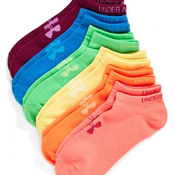 Under Armour No-Show Socks (6-Pack)   Nordstrom