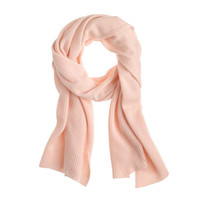 J.Crew Womens Collection Cashmere Ribbed Scarf
