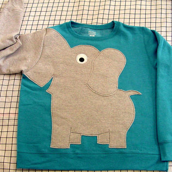 Elephant Trunk sleeve sweatshirt sweater by CreativeCallipipper