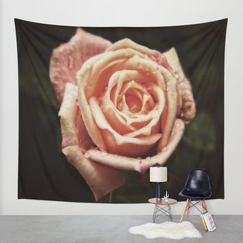 Blooming Love Wall Tapestry by DuckyB (Brandi)