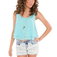 Whirley Lace Shorts