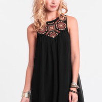 Chase The Sun Embroidered Dress