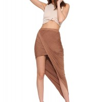 Everly Faux Suede Skirt
