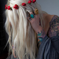Paint the Roses Red Flower Crown