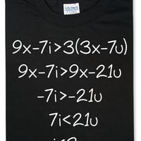 Show Your Work T-Shirt - Black,