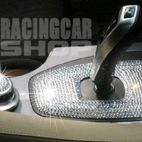 2007-2011 SMART CAR FORTWO INTERIOR EXTERIOR ICED OUT CRYSTAL BLING DIAMONDS 2008 2009 2010 07 08 09 10 11