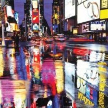 Times Square-New York City-Color, Photography Poster Print, 24 by 36-Inch
