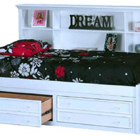 Cara Twin Size Poster Bed