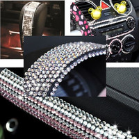 500pcs Diamond Crystal Rhinestone Sheet Car DIY Decoration Sticker Decal 6mm