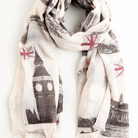 ModCloth Anglophile Style Scarf