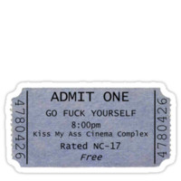 F*** You Admission Ticket