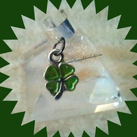 4 leaf Clover,Kiss Me I'm Irish,Irish Ear Cuff,