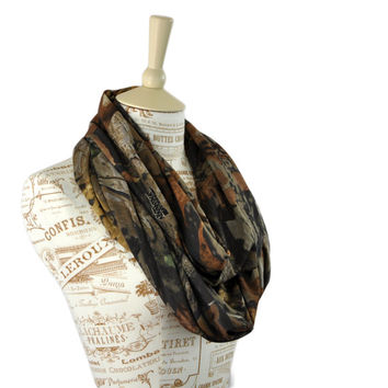 Real Tree Camo Infinity Scarf Timber Camouflage Circle Hunter