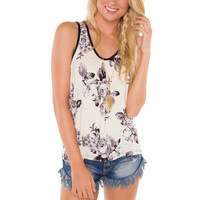 Carly Floral Top